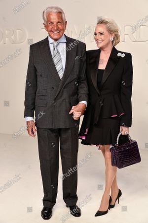 George Hamilton and Barbara Sturm