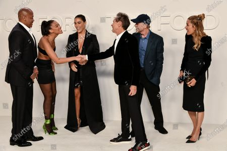 Dr. Dre, Truly Young, Nicole Threatt, Brian Grazer, Ron Howard and Veronica Smiley