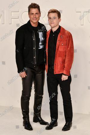 Rob Lowe and John Owen Lowe