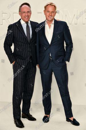 Stock Photo of Andrew Saffir and Daniel Benedict
