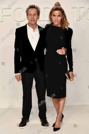 Stock Image of Brian Grazer and Veronica Smiley