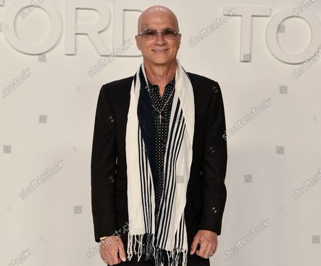 Editorial photo of Tom Ford show, Arrivals, Fall Winter 2020, Milk Studios, Los Angeles, USA - 07 Feb 2020