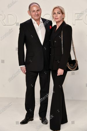 Stock Picture of John Demsey and Priscilla Phillips