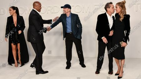 Stock Photo of Nicole Threatt, Dr. Dre, Ron Howard, Brian Grazer and Veronica Smiley