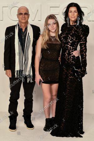 Stock Image of Jimmy Iovine, Skyla Sanders, and Liberty Ross