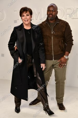 Stock Photo of Kris Jenner and Corey Gamble