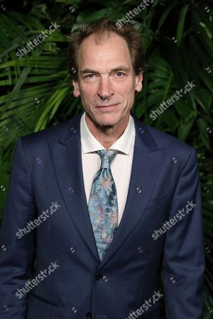 Stock Image of Julian Sands arrives at the 2020 Chanel Pre-Oscar Dinner at The Beverly Hills Hotel, in Beverly Hills, Calif