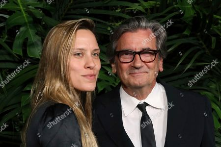 Anna Bingemann, Griffin Dunne. Anna Bingemann, left, and Griffin Dunne arrive at the 2020 Chanel Pre-Oscar Dinner at The Beverly Hills Hotel, in Beverly Hills, Calif