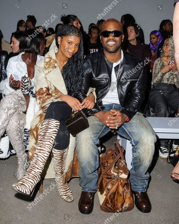 Renell Medrano, ASAP Ferg. Renell Medrano, left, and ASAP Ferg attend NYFW Fall/Winter 2020 - LaQuan Smith at Spring Studios, in New York