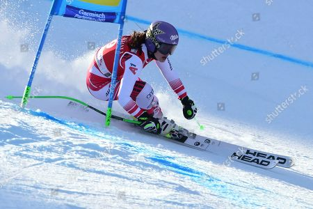 Editorial image of Alpine Skiing World Cup, Garmish Partenkirchen, Germany - 09 Feb 2020