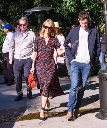 Stock Picture of Richard Hilton, Nicky Hilton Rothschild and James Rothschild