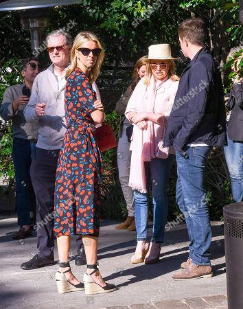 Richard Hilton, Kathy Hilton and Nicky Hilton Rothschild