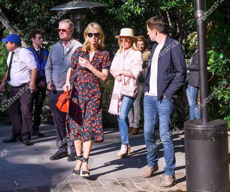 Stock Photo of Richard Hilton, Kathy Hilton and Nicky Hilton Rothschild