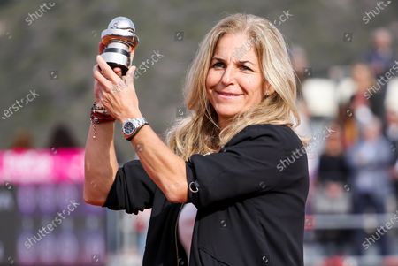 Editorial image of Commitment Award prize giving, Fed Cup, Tennis, La Manga Club, Cartagena, Spain - 08 Feb 2020
