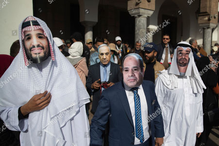 Editorial picture of Palestinians, Rabat, Morocco - 09 Feb 2020