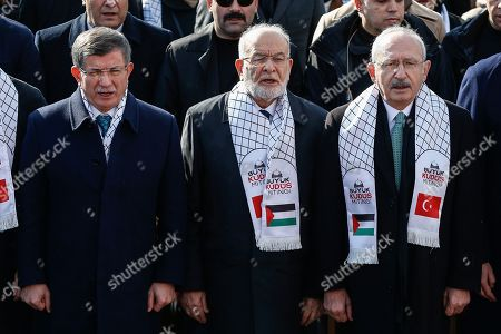Editorial picture of Israel Palestinians, Istanbul, Turkey - 09 Feb 2020