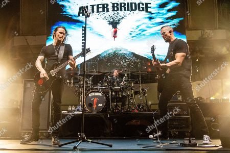 Myles Kennedy, Mark Tremonti. Myles Kennedy, left, and Mark Tremonti of Alter Bridge are seen on board the Carnival Valor during day three of the ShipRocked cruise on