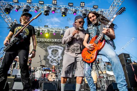 Andy Wood Corey Glover, Dario Lorina. Andy Wood, from left, Corey Glover, and Dario Lorina of The Stowaways is seen on board the Carnival Valor during day three of the ShipRocked cruise on
