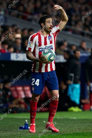 Sime Vrsaljko of Atletico de Madrid