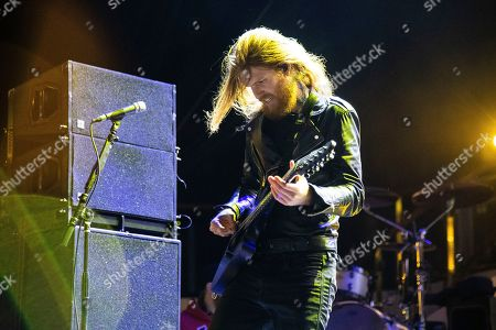 Alan Ashby of Of Mice & Men is seen on board the Carnival Valor during day one of the ShipRocked cruise on