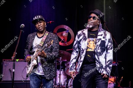Vernon Reid, Corey Glover. Vernon Reid, left, and Corey Glover of Living Colour are seen on board the Carnival Valor during day one of the ShipRocked cruise on
