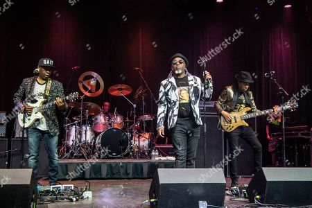 Vernon Reid, Corey Glover, Doug Wimbish. Vernon Reid, from left, Corey Glover, and Doug Wimbish of Living Colour are seen on board the Carnival Valor during day one of the ShipRocked cruise on