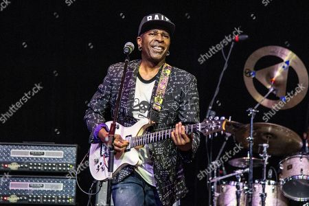 Vernon Reid of Living Colour is seen on board the Carnival Valor during day one of the ShipRocked cruise on