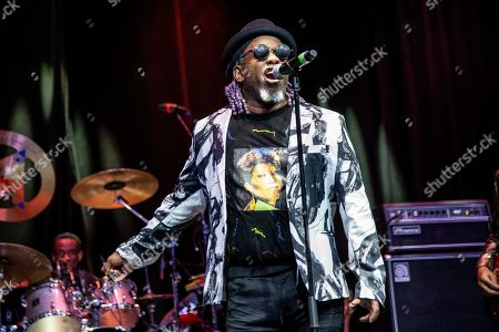 Corey Glover of Living Colour is seen on board the Carnival Valor during day one of the ShipRocked cruise on