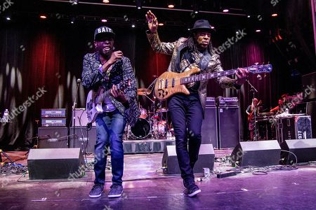 Vernon Reid, Doug Wimbish. Vernon Reid, left, and Doug Wimbish of Living Colour are seen on board the Carnival Valor during day one of the ShipRocked cruise on