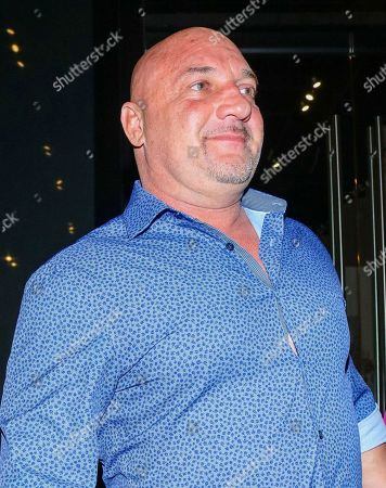 Jay Glazer outside Catch Restaurants in West Hollywood