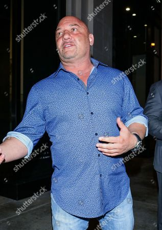Stock Photo of Jay Glazer outside Catch Restaurants in West Hollywood