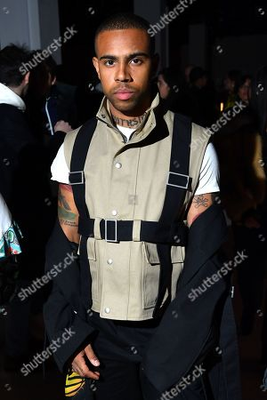Vic Mensa in the front row