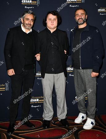 Stock Picture of Eric Toledano, Benjamin Lesieur and Olivier Nakache