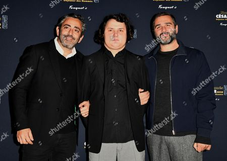 Eric Toledano, Benjamin Lesieur and Olivier Nakache