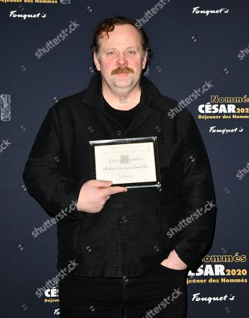 Gregory Gadebois nominated for Ôbest actor in supporting roleÕ in 'J'Accuse' attends