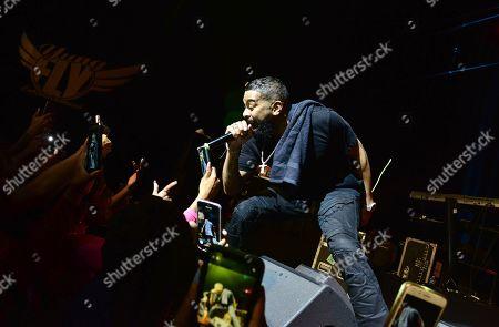 Editorial photo of Pre Valentine's Love R&B Tour at James L. Knight Center, Miami, USA - 08 Feb 2020