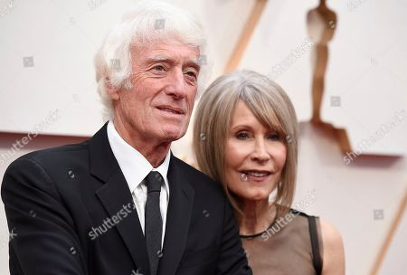 Roger Deakins, Isabella James Purefoy Ellis. Roger Deakins, left, and Isabella James Purefoy Ellis arrive at the Oscars, at the Dolby Theatre in Los Angeles