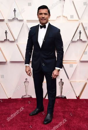 Mark Consuelos arrives at the Oscars, at the Dolby Theatre in Los Angeles