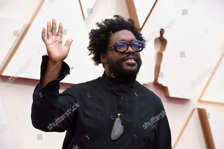 Questlove arrives at the Oscars, at the Dolby Theatre in Los Angeles
