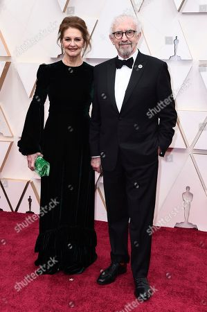 Kate Fahy, Jonathan Pryce. Kate Fahy, left, and Jonathan Pryce arrive at the Oscars, at the Dolby Theatre in Los Angeles