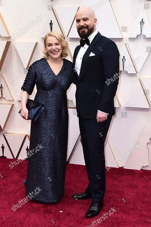 Arianne Sutner, Chris Butler. Arianne Sutner, left, and Chris Butler arrive at the Oscars, at the Dolby Theatre in Los Angeles