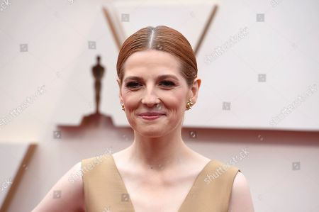 Krysty Wilson-Cairns arrives at the Oscars, at the Dolby Theatre in Los Angeles