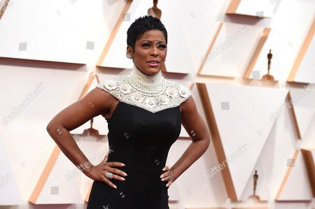 Tamron Hall arrives at the Oscars, at the Dolby Theatre in Los Angeles