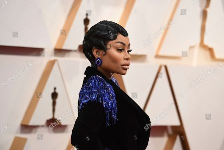 Blac Chyna arrives at the Oscars, at the Dolby Theatre in Los Angeles