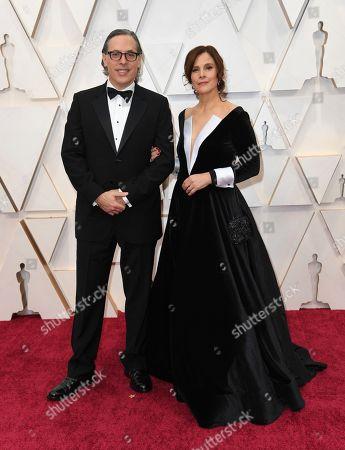 Rodrigo Prieto, Monica Prieto. Rodrigo Prieto, left, and Monica Prieto arrive at the Oscars, at the Dolby Theatre in Los Angeles
