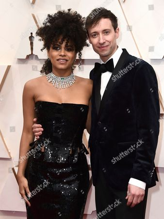 Zazie Beetz, David Rysdahl. Zazie Beetz, left, and David Rysdahl arrive at the Oscars, at the Dolby Theatre in Los Angeles