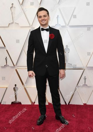 Dean-Charles Chapman arrives at the Oscars, at the Dolby Theatre in Los Angeles