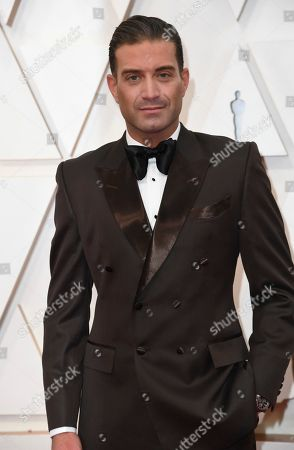 Stock Image of Omar Sharif Jr. arrives at the Oscars, at the Dolby Theatre in Los Angeles