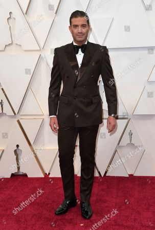 Omar Sharif Jr. arrives at the Oscars, at the Dolby Theatre in Los Angeles