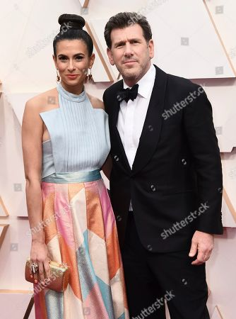 Stock Photo of Jessica Sher, Lawrence Sher. Jessica Sher, left, and Lawrence Sher arrive at the Oscars, at the Dolby Theatre in Los Angeles